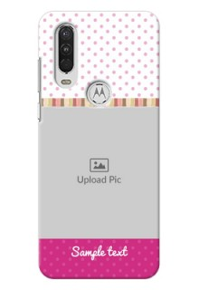 Motorola One Action custom mobile cases: Cute Girls Cover Design