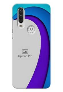 Motorola One Action custom back covers: Simple Pattern Design