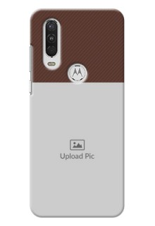 Motorola One Action personalised phone covers: Elegant Case Design