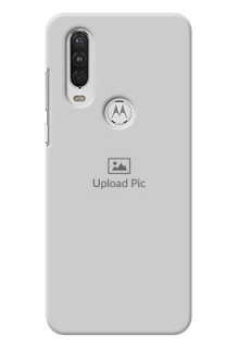 Motorola One Action Custom Mobile Cover: Upload Full Picture Design