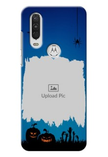 Motorola One Action mobile cases online with pro Halloween design
