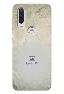 Motorola One Action custom mobile back covers with vintage design