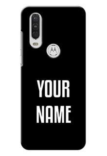 Motorola One Action Your Name on Phone Case