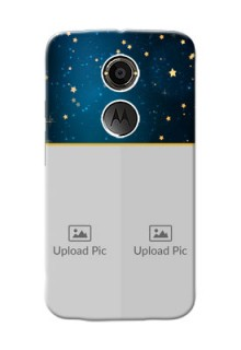 Motorola X2 2 image holder with galaxy backdrop and stars  Design