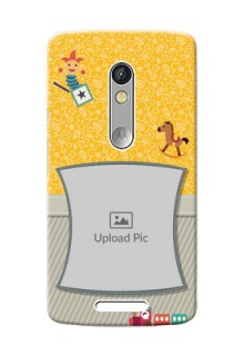 Motorola X3 Baby Picture Upload Mobile Cover Design