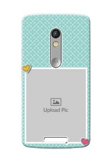 Motorola X3 2 image holder with pattern Design