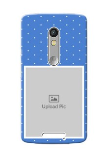 Motorola X3 2 image holder polka dots Design