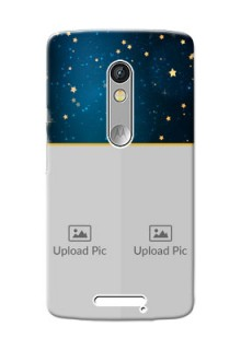 Motorola X3 2 image holder with galaxy backdrop and stars  Design