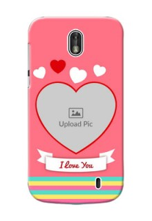 Nokia 1 I Love You Mobile Cover Design
