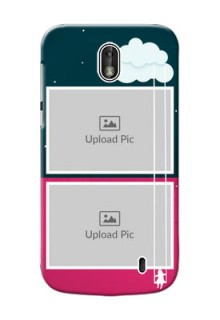 Nokia 1 Cute Girl Abstract Mobile Case Design