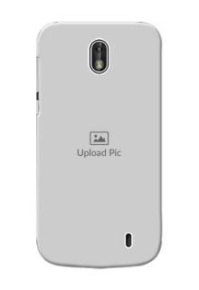 Nokia 1 Full Picture Upload Mobile Back Cover Design