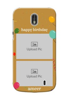 Nokia 1 2 image holder with birthday celebrations Design