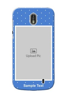 Nokia 1 2 image holder polka dots Design