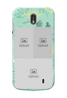 Nokia 1 family is forever design with floral pattern Design
