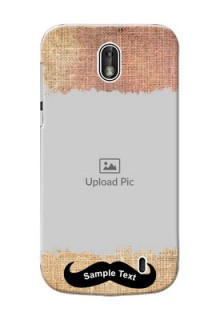 Nokia 1 modern cloth texture Design