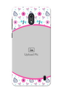 Nokia 2 Colourful Flowers Mobile Cover Design