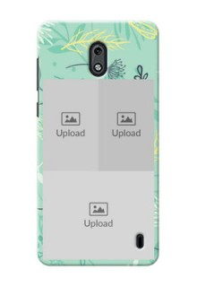 Nokia 2 family is forever design with floral pattern Design