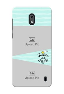 Nokia 2 2 image holder with friends icon Design