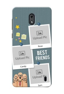 Nokia 2 3 image holder with sticky frames and friendship day wishes Design