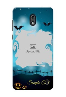 Nokia 2 halloween design with designer frame Design