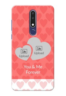 Nokia 3.1 Plus personalized phone covers: Couple Pic Upload Design