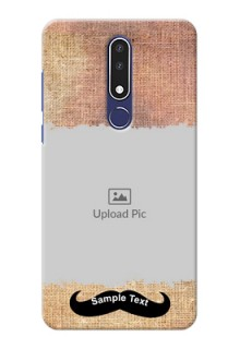 Nokia 3.1 Plus Mobile Back Covers Online with Texture Design
