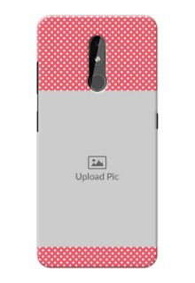 Nokia 3.2 Custom Mobile Case with White Dotted Design