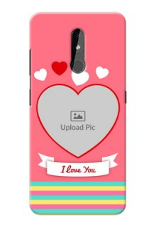 Nokia 3.2 Personalised mobile covers: Love Doodle Design