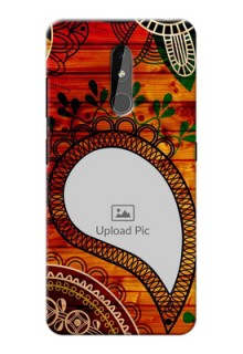 Nokia 3.2 custom mobile cases: Abstract Colorful Design