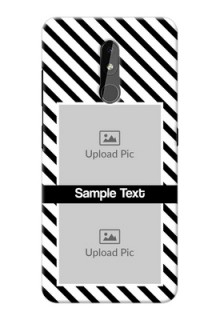 Nokia 3.2 Back Covers: Black And White Stripes Design