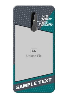 Nokia 3.2 Back Covers: Background Pattern Design with Quote