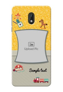 Nokia 3 Baby Picture Upload Mobile Cover Design