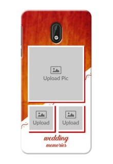 Nokia 3 Wedding Memories Mobile Cover Design