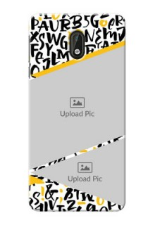 Nokia 3 2 image holder with letters pattern  Design