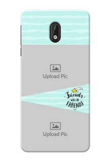Nokia 3 2 image holder with friends icon Design