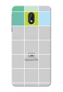 Nokia 3 white boxes pattern Design Design