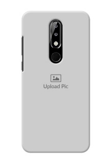 Nokia 5.1 plus Custom Mobile Cover: Upload Full Picture Design