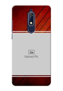 Nokia 5.1 Back Covers: Leather Phone Case Design
