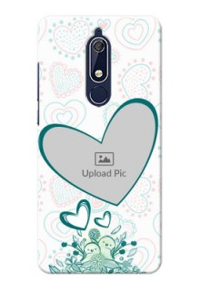 Nokia 5.1 Personalized Mobile Cases: Premium Couple Design
