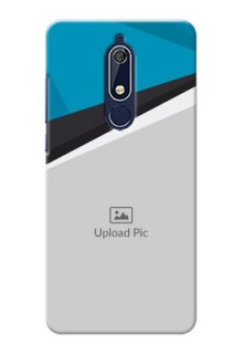 Nokia 5.1 Back Covers: Simple Pattern Photo Upload Design