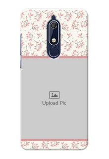 Nokia 5.1 Back Covers: Premium Floral Design
