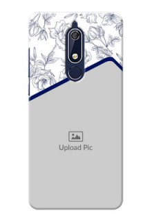 Nokia 5.1 Phone Cases: Premium Floral Design