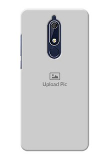 Nokia 5.1 Custom Mobile Cover: Upload Full Picture Design