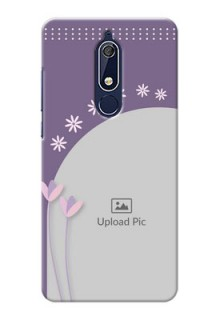 Nokia 5.1 Phone covers for girls: lavender flowers design
