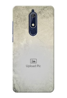 Nokia 5.1 custom mobile back covers with vintage design