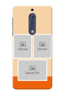 Nokia 5 Bulk Photos Upload Mobile Case  Design