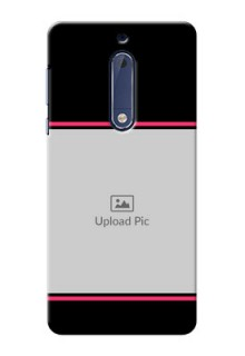 Nokia 5 Photo With Text Mobile Case Design
