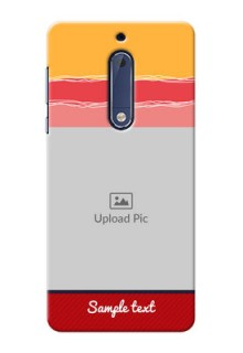 Nokia 5 Colourful Mobile Case Design