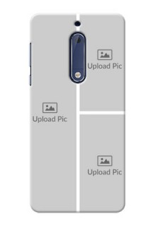 Nokia 5 Multiple Picture Upload Mobile Cover Design