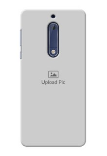 Nokia 5 Full Picture Upload Mobile Back Cover Design